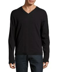 Zadig & Voltaire - Long Sleeve Cotton Pullover - Lyst