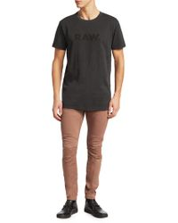 G-Star RAW - Skinny-fit Paneled Pants - Lyst