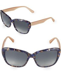 Vera Wang - 55mm Square Sunglasses - Lyst