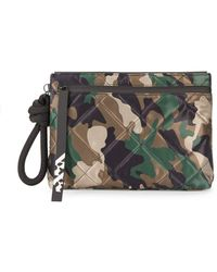 Kendall + Kylie - Chloe Camouflage Wristlet - Lyst