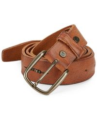 Will Leather Goods - Anslem Leather Belt - Lyst