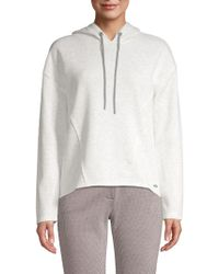Marc New York - Deconstructed Heathered Hoodie - Lyst
