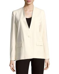 Maje - Long-sleeve Solid Jacket - Lyst