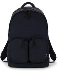Steven Alan Zippered Backpack - Black