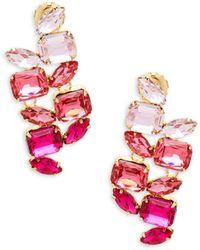 Jardin - Cluster Drop Earrings - Lyst