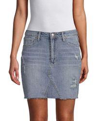 Joe's Jeans - Rayna High-waist Pencil Denim Skirt - Lyst
