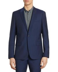 The Kooples - Slim-fit Wool Jacket - Lyst
