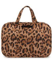 Aimee Kestenberg - Leopard-print Hanging Cosmetic Bag - Lyst