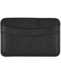 Saks Fifth Avenue - Textured Leather Card Case - Lyst