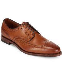 Allen Edmonds - Stuttgart Leather Shoes - Lyst