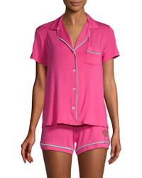 Juicy Couture - Regal Two-piece Pyjama Set - Lyst