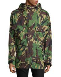 Rag & Bone - O-miles Camouflage Jacket - Lyst