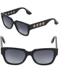McQ - 51mm Rectangle Sunglasses - Lyst