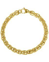Saks Fifth Avenue - Yellow Gold Link Bracelet - Lyst