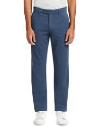 Saks Fifth Avenue - Stretch Cotton Chino Pants - Lyst
