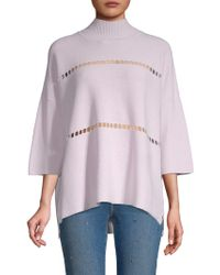 French Connection - Milano Mozart Cotton Sweater - Lyst