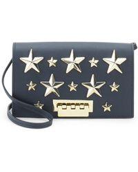 Zac Zac Posen - Earthette Star Leather Crossbody Bag - Lyst