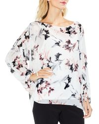Vince Camuto - Lily Melody Bubble-sleeve Tie Cuff Blouse - Lyst