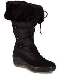 Pajar - Malina Faux-fur Trimmed Boots - Lyst