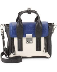 3.1 Phillip Lim - Pashli Colorblock Leather Satchel - Lyst