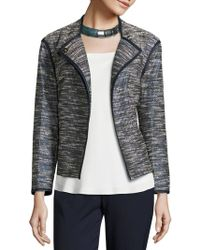 Lafayette 148 New York - Dane Alta Reed Cloth Jacket - Lyst