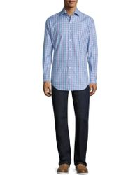 Peter Millar - Crown Belize Plaid Shirt - Lyst