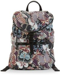 Valentino - Multicolored Drawstring Backpack - Lyst