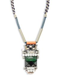 Nocturne - Darcy Chain Pendant Necklace - Lyst
