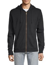 Robin's Jean - Winged Racer Cotton Hoodie - Lyst