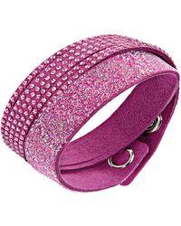 Swarovski - Slake Double Wrap Bracelet - Lyst