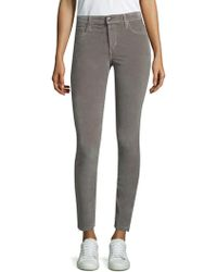 Joe's Jeans - Icon Velvet Skinny Trousers - Lyst