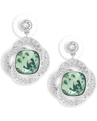 Swarovski - Agility Crystal Drop Earrings - Lyst