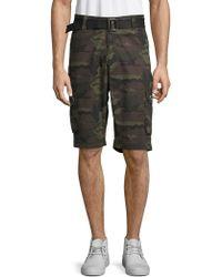 820a2dda8c Xray Jeans - Camouflage Cotton Cargo Shorts - Lyst