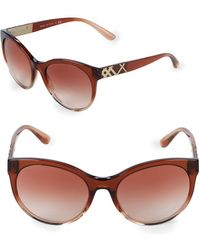 Burberry - 56mm Butterfly Sunglasses - Lyst