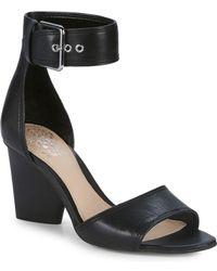 Vince Camuto - Driton Block Heel Sandal - Lyst