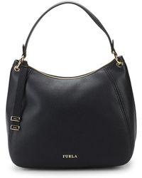 Furla - Zip Leather Top Handle Bag - Lyst