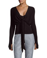 VEDA - Craft Knitted Top - Lyst