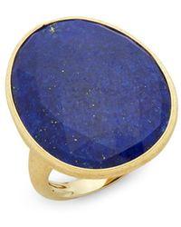 Marco Bicego - 18k Yelow Gold & Lapis Ring - Lyst