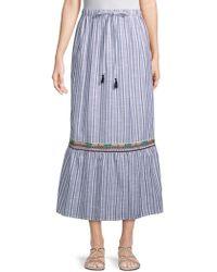 Raga - Sailor Cotton Midi Skirt - Lyst