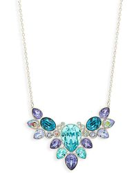 Swarovski - Crystal Pendant Necklace - Lyst