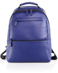 Saks Fifth Avenue - Collection Oblique-zip Leather Backpack - Lyst