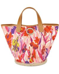 Frances Valentine - Frida Signature Floral Bucket Bag - Lyst