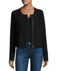 Theory - Tarlan Admiral Scoopneck Jacket - Lyst
