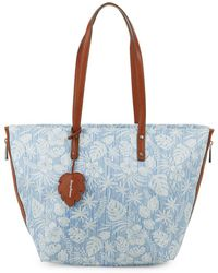 Tommy Bahama - Printed Zip Tote Bag - Lyst