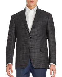 Michael Kors - Checked Wool Sportcoat - Lyst