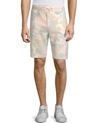 Wesc - Marty Camouflage Drawstring Shorts - Lyst