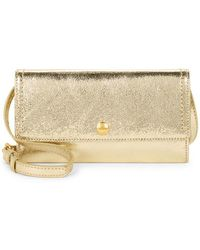 Cole Haan - Benson Ii Leather Wallet On Chain - Lyst