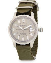 Filson - Mackinaw Field Stainless Steel Strap Watch - Lyst