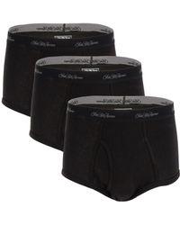 Saks Fifth Avenue - 3-pack Logo Cotton Boxer Briefs - Lyst