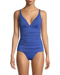 Tommy Bahama - Ruched One-piece - Lyst